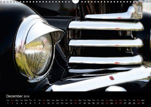 Made in Germany - Classic Cars / UK-Version (Wall Calendar 2018