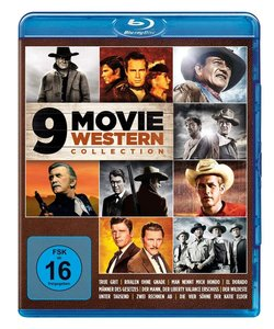 9 Movie Western Collection, 3 Blu-ray