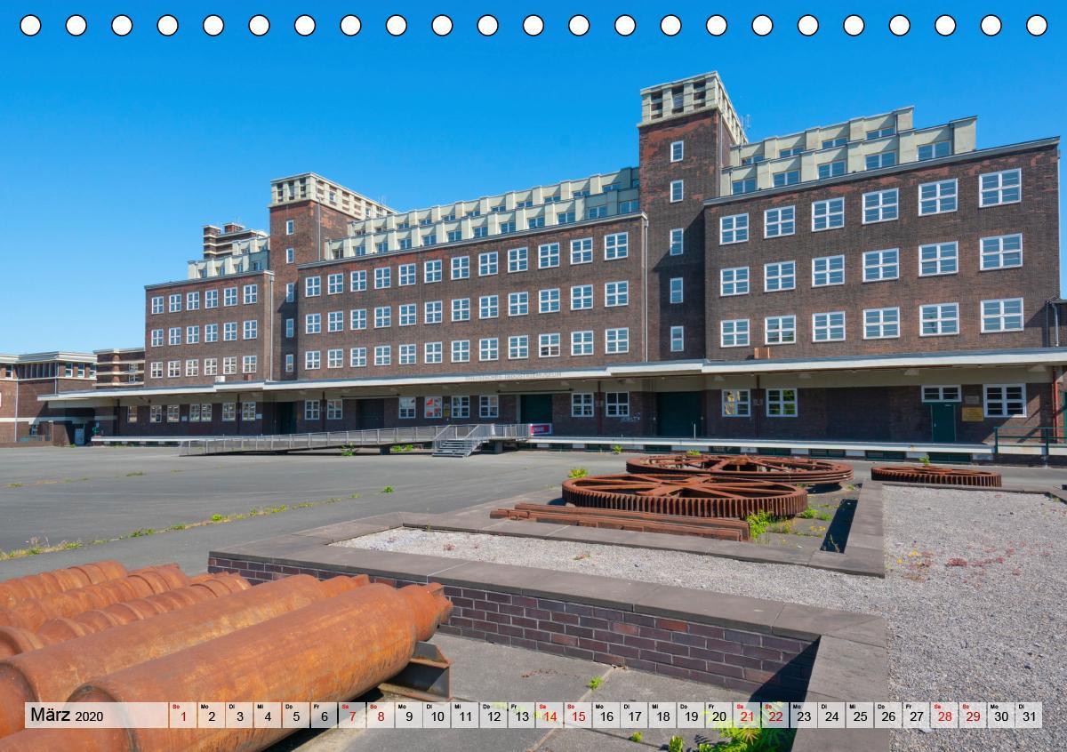 Bauhaus-Architektur im Ruhrgebiet (Tischkalender 2020 DIN A5 que - zum Schließen ins Bild klicken