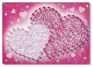String art mini: Heart