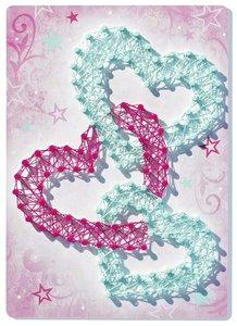 String art mini: Heart
