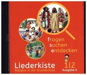 fragen - suchen - entdecken. Audio-CD 1/2. Ausgabe Baden-Württem
