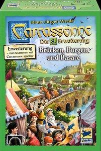 Carcassonne, Brücken Burgen und Basare (Spiel-Zubehör)