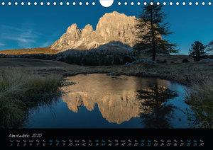 Dolomites / UK-Version (Wall Calendar 2020 DIN A4 Landscape)