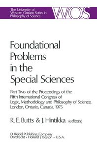 Foundational Problems in the Special Sciences