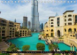 Dubai Wüstenstadt (Tischkalender 2019 DIN A5 quer)