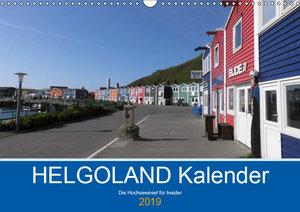Helgoland Kalender (Wandkalender 2019 DIN A3 quer)