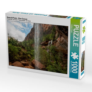 Emerald Pools - Zion Canyon 1000 Teile Puzzle quer