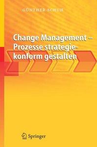 Change Management - Prozesse strategiekonform gestalten