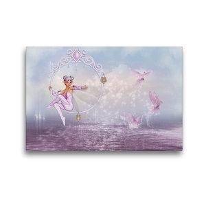 Premium Textil-Leinwand 45 cm x 30 cm quer Magisches Wasser