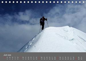 Bergsteigen - Extremsport am Limit (Tischkalender 2020 DIN A5 qu