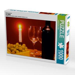 Ein Motiv aus dem Kalender LE WEIN 1000 Teile Puzzle quer