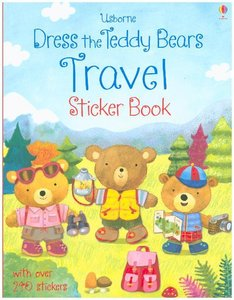 Dress the Teddy Bears Travel Sticker Book