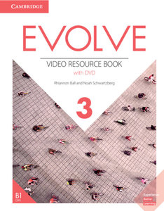 Evolve 3 (B1). Video Resource Book with DVD