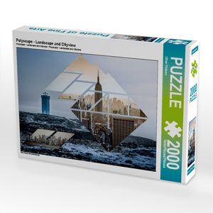 Polyscape - Landscape and Cityview 2000 Teile Puzzle quer