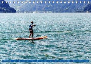 Stehpaddeln - Der neue Wassersport (Tischkalender 2020 DIN A5 qu