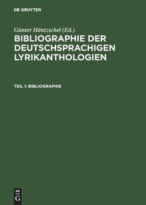 Teil 1: Bibliographie; Teil 2: Register