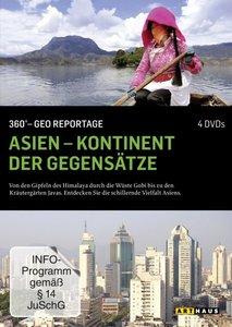 Asien - Kontinent der Gegensätze - 360° - GEO Reportage