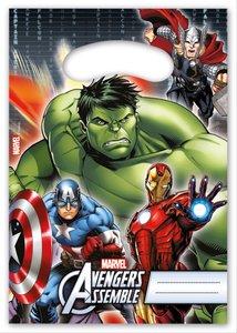 Marvel Avengers Power Partytüten 6 Stück