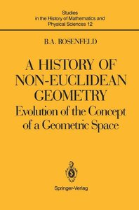 A History of Non-Euclidean Geometry