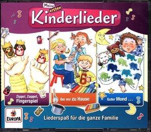 Meine ersten Kinderlieder-02/3er Box (Fingerspiel