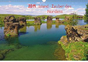 Island - Zauber des Nordens (Wandkalender 2019 DIN A3 quer)