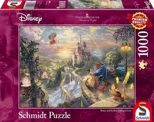 Schmidt Spiele Puzzle Thomas Kinkade Disney Die Schöne und das B