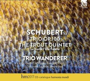 Trio op.100/Forellenquintett/Kat.2017