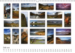 Schottland Impressionen (Wandkalender 2019 DIN A3 quer)