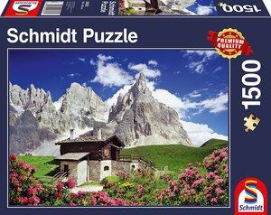 Segantinihütte, Dolomiten (Puzzle)