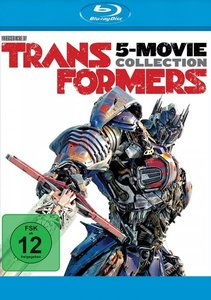 Transformers 1-5 Collection, 5 Blu-ray