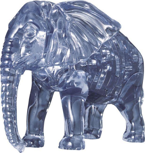 Puzzle Puzzle 3D Crystal Elefant 40 Teile - zum Schließen ins Bild klicken