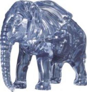 Puzzle Puzzle 3D Crystal Elefant 40 Teile