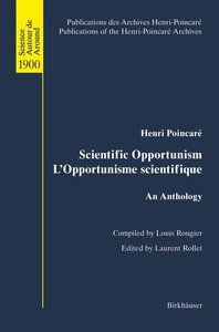 Scientific Opportunism L'Opportunisme scientifique