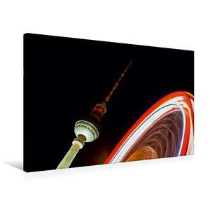 Premium Textil-Leinwand 75 cm x 50 cm quer Alexanderplatz