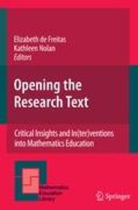 Opening the Research Text