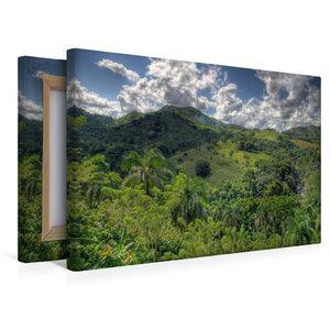 Premium Textil-Leinwand 45 cm x 30 cm quer in der Nähe von Higüe