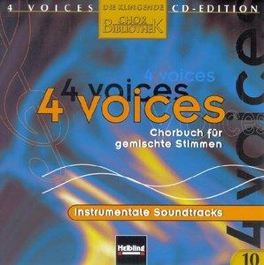 4 voices - CD Edition. Die klingende Chorbibliothek. CD 10. 1 Au