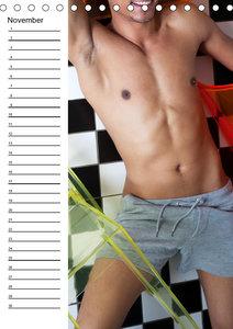 Männer sinnlich und sexy (Tischkalender immerwährend DIN A5 hoch