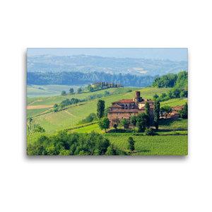 Premium Textil-Leinwand 45 cm x 30 cm quer Castello di La Volta