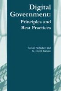 Digital Government: Principles and Best Practices