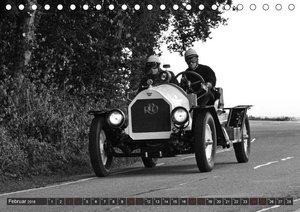 REO Roadster USA 1916 - in Schwarzweiss (Tischkalender 2018 DIN