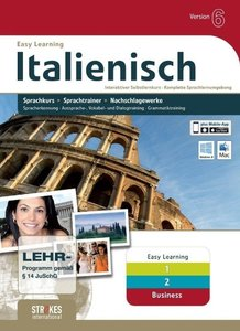 Strokes Easy Learning Italienisch 1+2+Business Version 6.0
