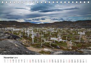 Rund um den Ilulissat Eisfjord - GR?NLAND 2019 (Tischkalender 20