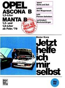 Opel Ascona/Manta B - 1,3 Liter ab Februar '79