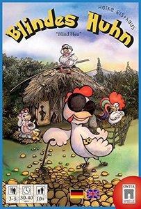 Ostia OSTBH001 - Blindes Huhn, Kartenspiel, Familienspiel