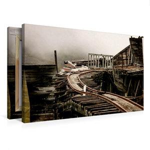 Premium Textil-Leinwand 75 cm x 50 cm quer Independence Mine am