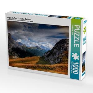 Valparola Pass - Civetta - Belluno 1000 Teile Puzzle quer