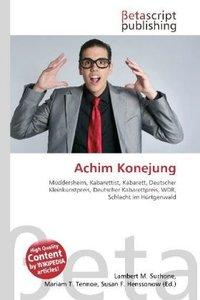 Achim Konejung