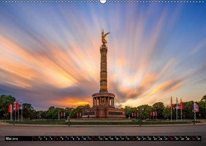 Berlin - Bilder einer Metropole (Wandkalender 2019 DIN A2 quer)